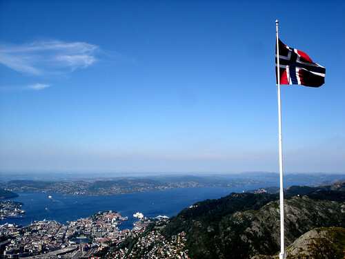 The Flag over Bergen