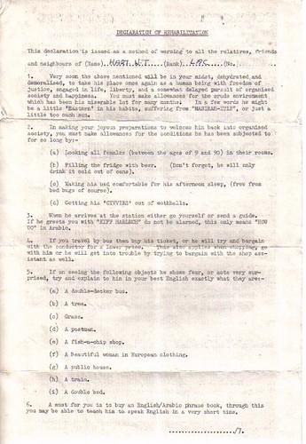 ReHab Letter Front