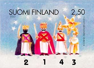 La tradición de los reyes magos pone el fin a la navidad en Finlandia