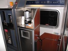 superliner sleeper coffee station 2 (DaveLeritz) Tags: coffee amtrak sleeper superliner