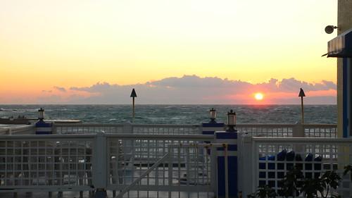 Sunset in Hayama (@Denny's)