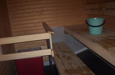 sex in the sauna advice: the benches are hard
