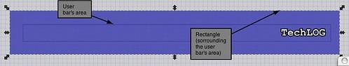 Userbar con Inkscape: preparare il colore di sfondo