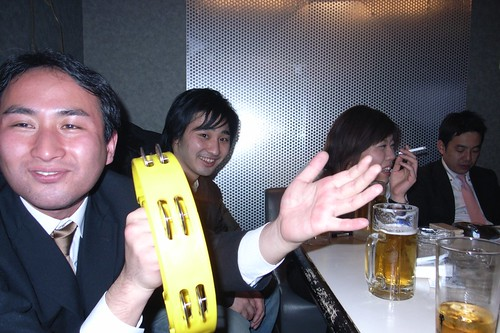 A typical night at karaoke in Japan