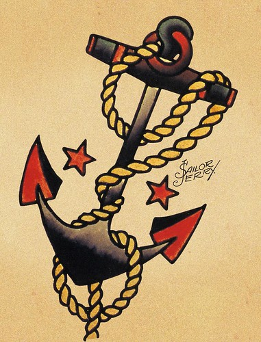 sailor pin up tattoos
