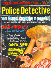 Police Detective Magazine (January 1964) AUTHOR: various ARTIST: (photo) (Hang Fire Books) Tags: pulpfiction truecrime goodgirlart gga vintagepaperbacks