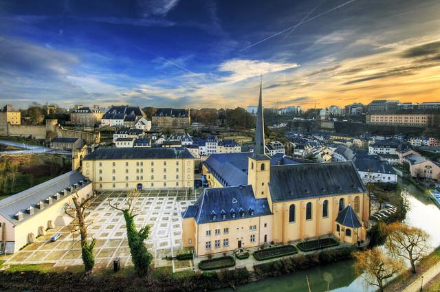 Luxembourg Neumünster und Johanneskirche