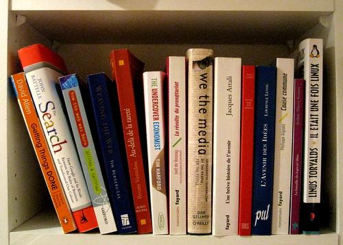 Ma bibliothèque de geek
