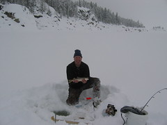 Me (fethers1) Tags: granby icefishing laketrout