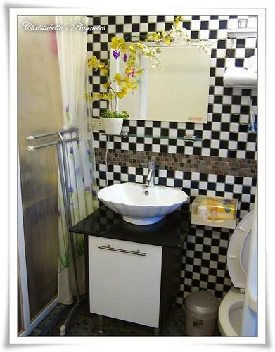 八番坑&41民宿 蘭花房浴室一角