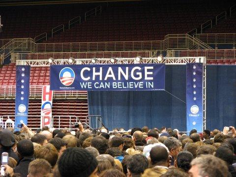 obama's campaign line