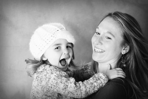 k and her mum