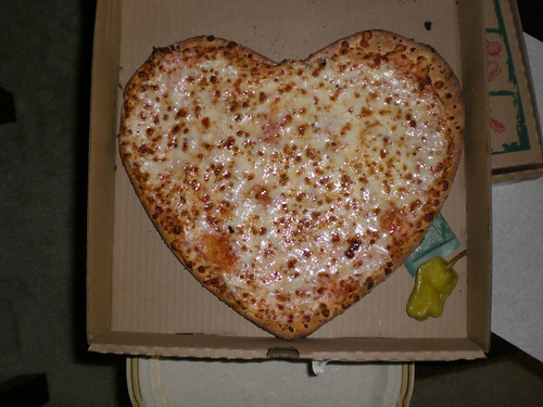 Heart-Shaped Pizza (by charliebakerband)