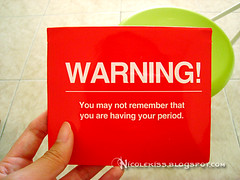warning pad