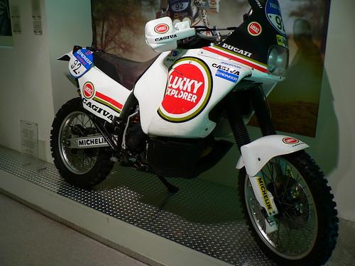 Cagiva powered by Ducati para el Dakar