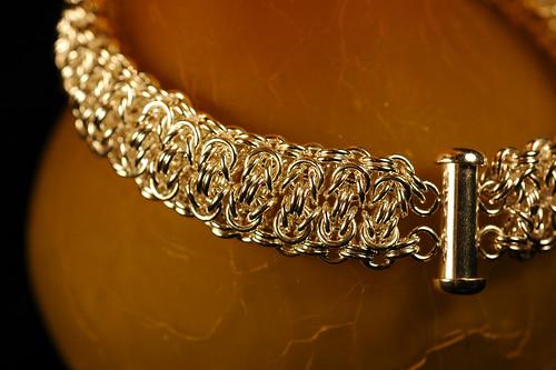 Byzantine Bar Chain Maille Bracelet