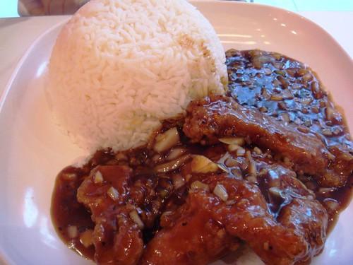 Pork chop rice@DHE