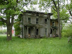 Old farm and farmhouse on County Route 11, of Depauville, Jefferson County, NY (marcnorthernny) Tags: old house ny newyork building abandoned barn ruins decay urbandecay upstate structure abandon urbanexploration collapse northern fallingdown jeffersoncounty anawesomeshot ashotadayorso