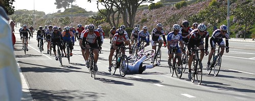 Crash in the Final Sprint