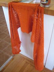 Hanami shawl