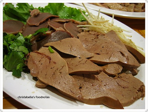 台灣鵝肉食堂珍肝拼盤