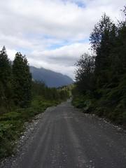 Trek Chaiten - Lagunas - Alerce - Escondidas - route