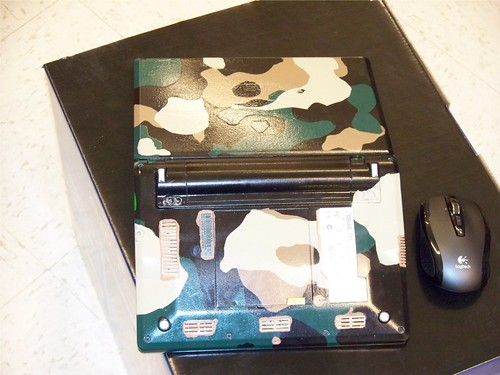 Camouflage Eee PC