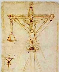 F105v-A-Codex Atlanticus-Motor de agua y viento (parte)-Biblitoteca Ambrosiana
