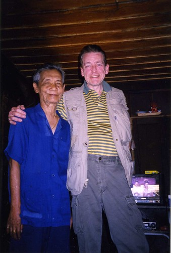 Nick Tosches With Opium Master Chiang.