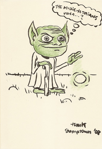 Yoda sketchbook page 68 - Tom Kaczynski