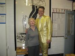 Grandma Cookie Gantz and Charles Phoenix. (05/17/2008)