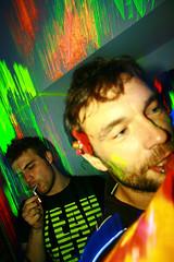 Dorin & Ludovic (uBIc uBIc uBIc uBIc uBIc uBIc uBIc uBIc) Tags: party music colors trash lights luca neon dj live uv tudor turbo fluorescent blacklight glowinthedark electro techno omar 2008 sergi bucharest bal streetwear atelier ergo djset samih ubic facultateadearhitectura skvjs newwithtags ionmincu saveorcancel rezistentamaterialelor mrdisko photosbymindru balarhitectura bucharestwastedyouth