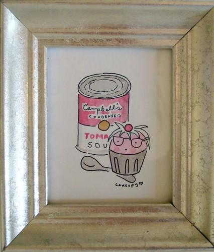 Andy Warhol Cupcake