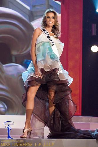traje típico de Miss Australia