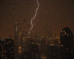 Chicago Loop lightning strike (doug.siefken) Tags: city urban cloud chicago storm art rain weather night clouds dark geotagged illinois downtown cityscape loop outdoor doug foggy cities windy r hancock douglas nite thunder urbanscape streeterville chicagoskyline urbanscapes goldcoast magmile chicagoist citscapes chicagoan siefken illinoisthunderstorms dougsiefken douglasrsiefken