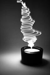 Magic Candle (koinis) Tags: light bw white black canon john painting 50mm paint candle magick magic led explore getty 18 shape cirkle cirkles koinberg artlegacy kjesäter