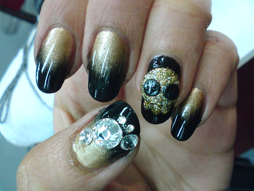 nail Pirates style in Black nail art designs gallery nail art designs gallery