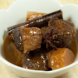 Cantonese Braised Beef Brisket with Daikon Radish