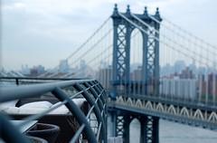 Manhattan Bridge from Friend's Rooftop