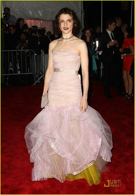 Rachel Weisz MET Gala 2009 Vera Wang by nadiathinks