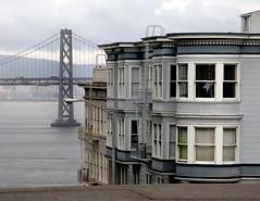 Telegraph Hill, San Francisco (Dave Glass . foto) Tags: sanfrancisco northbeach baybridge sanfranciscobay telegraphhill greenstreet sanfranciscooaklandbaybridge cityofhills
