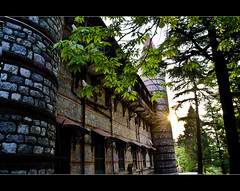 abandoned.. (PNike (Prashanth Naik)) Tags: windows greenleaves india castle architecture nikon sunrays mussoorie abandonedbuilding uttarakhand pnike