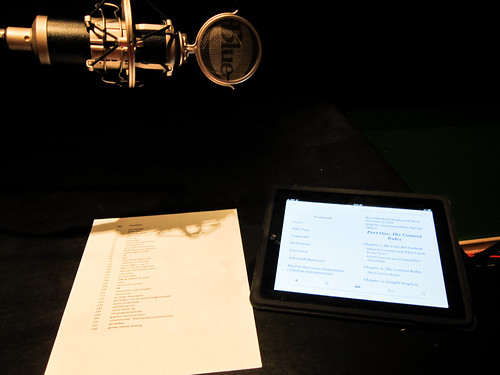 Content Rules Audiobook Recording