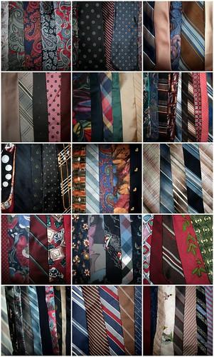 Necktie Mosaic