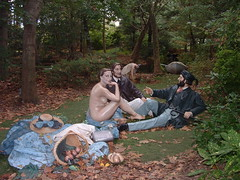 Luncheon on the Grass (wfyurasko) Tags: art newjersey picnic hamilton paintings nj jersey manet groundsforsculpture jsewardjohnson beyondtheframe ledjeunersurlherbe luncheononthegrass 08619