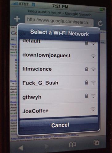 señal Wi-Fi para iPhone