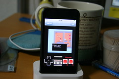 iPod Touch with NES ROM DQ3