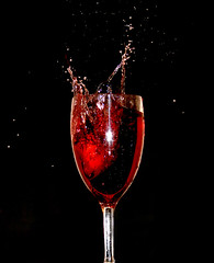 Party Time (Time Grabber) Tags: red party glass wine action splash wfc amazingtalent superbmasterpiece goldenphotographer timegrabber
