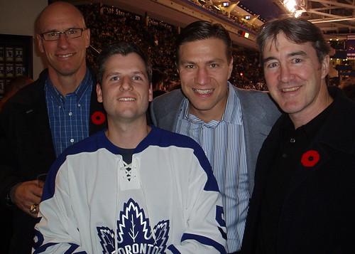 Toronto Mike Meets Hockey Heroes