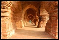 Inside RaasMancha. (Sujoy75) Tags: sculpture heritage landscape temple architechture culture bishnupur westbengal indianhistory radhamadhab malladynasty